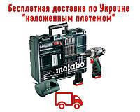 Аккумуляторный шуруповерт Metabo PowerMaxx BS Basic Mobile Workshop (600080880)