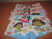 Шортики детские на девочку 5-10 лет TMN  бамбук с рисунком разные цвета р.L