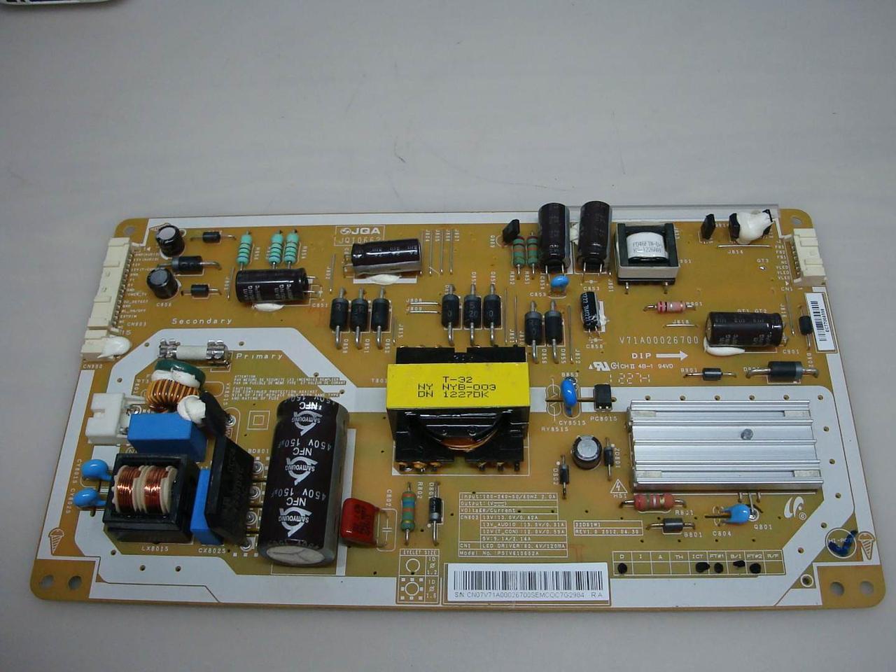"""Запчасти к телевизору 32"""" Toshiba 32pb200v1 (PSiV610602A , NYB-003)"""