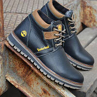 Мужские кожаные зимние ботинки Timberland