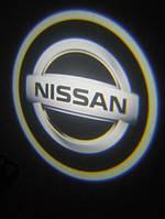 Led Logo проекторы в двери Nissan
