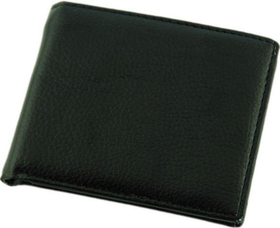 Мужской практичный бумажник из эко-кожи Traum 7110-25 черный
