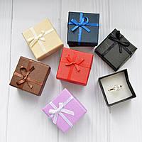Подарочная коробочка для кольца  и серьг - Классика №6