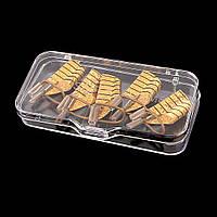 Формы многоразовые для наращивания ногтей 1 упаковка ( 5 шт)