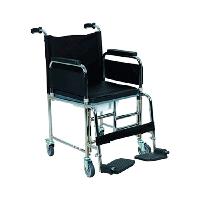 Кресло туалет для инвалидов на колесах Golfi-5