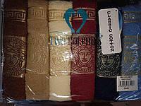 """Махровые Турецкие полотенца для ванной комнаты """"Грек"""",торговой марки """"TWO DOLPHINS"""""""