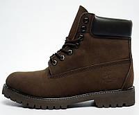 Женские ботинки Timberland, коричневые
