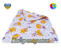 Детское стеганое одеяло синтепон-хлопок-Разные цвета!!!