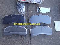 Колодки тормозные Daf XF 95, BPW, Iveco, Mercedes Benz Actros, Saf, Scania (производитель Rider, Венгрия)