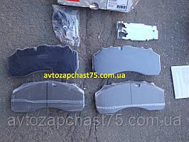 Колодки гальмівні Daf XF 95, BPW, Iveco, Mercedes Benz Actros, Saf, Scania (виробник Rider, Угорщина)