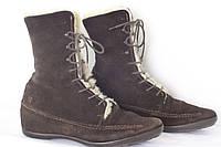 Зимние женские ботинки TOMMY HILFIGER натур замш размер 40