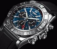Часы Breitling Chronomat Blue Titanium хронограф ААА класс