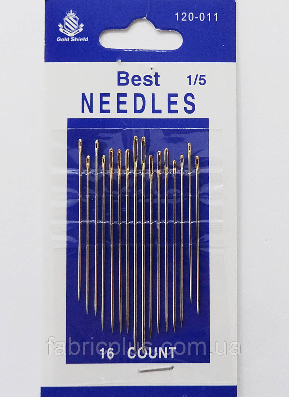 Иглы для ручного шитья 1/5 BEST NEEDLES (16 шт)
