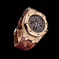 Часы хронограф Audemars Piguet Royal Oak Gold Brown