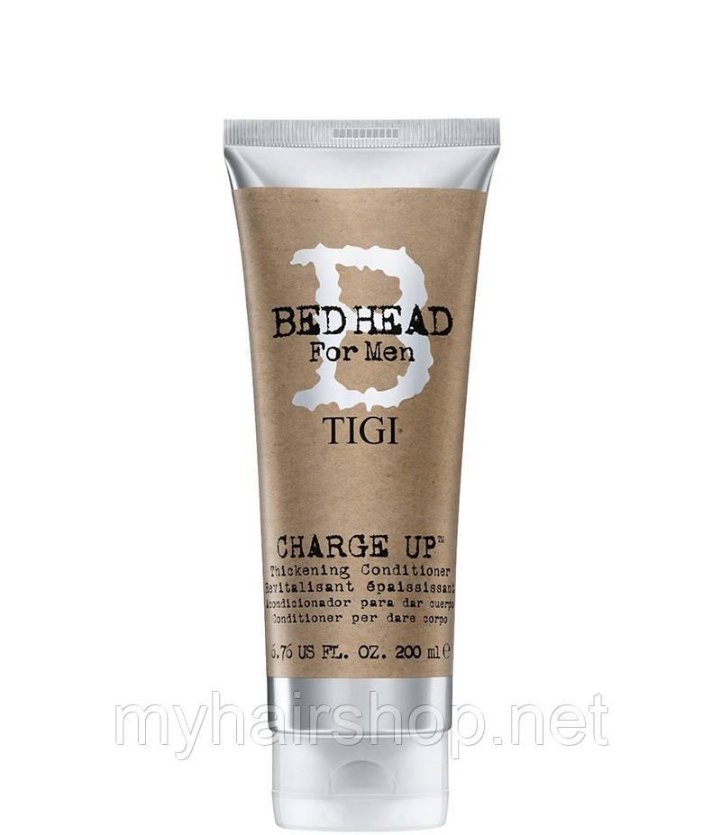Кондиционер для волос уплотняющий Tigi Bed Head B For Men Charge Up Thickening Conditioner 200 мл