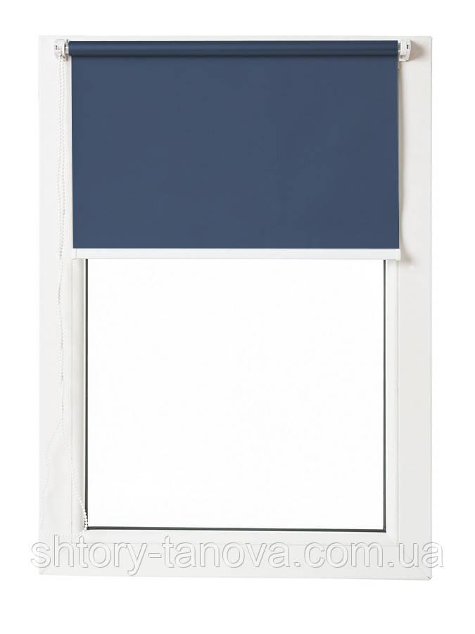 Термо ролеты Арджент (т. синий)