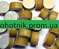 Древесноволокнистые осаленные пыжи под пластиковую гильзу 16к-200шт.