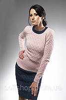 Вязанный комплект (джемпер и юбка)