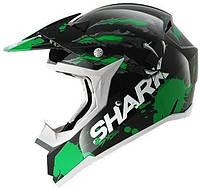Мотошлем SHARK SX2 Predator зеленый черный XL