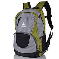 Рюкзак городской Onepolar Мужской рюкзак ONEPOLAR (ВАНПОЛАР) W1674-green