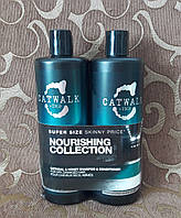 Шампунь и кондиционер для сухих, поврежденных волос TIGI Catwalk Oatmeal & Honey Nourishing