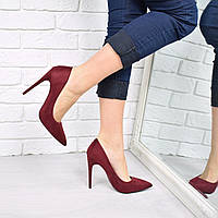 Туфли женские на шпильке Vices So Kate марсала 3711, CHRISTIAN LOUBOUTIN