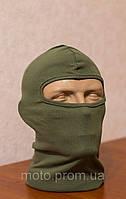 Балаклава - маска цвет хаки 100 % каттон Турция