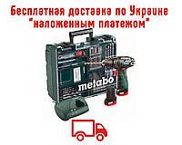 Аккумуляторный ударный шуруповерт Metabo PowerMaxx SB Basic Set