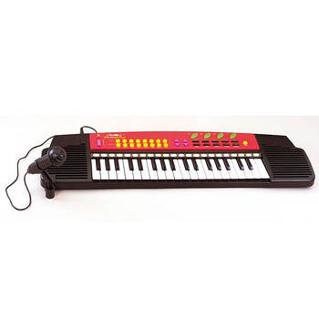 Электросинтезатор с микрофоном 63х18 Simba 6835071