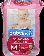 Подгузники для плавания Babylove, 7-13 кг, размер M — 11 шт