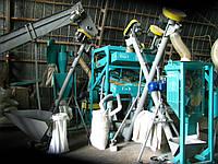 Крупорушка для перерабтки ячменя. Оборудование для переработки зерна, крупы