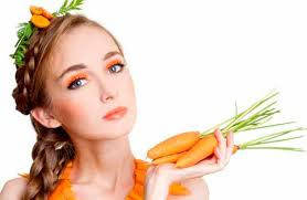 Морковная маска для лица (бесплатная доставка по Украине)