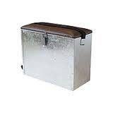 Ящик оцинкованный, зимний с перегородкой