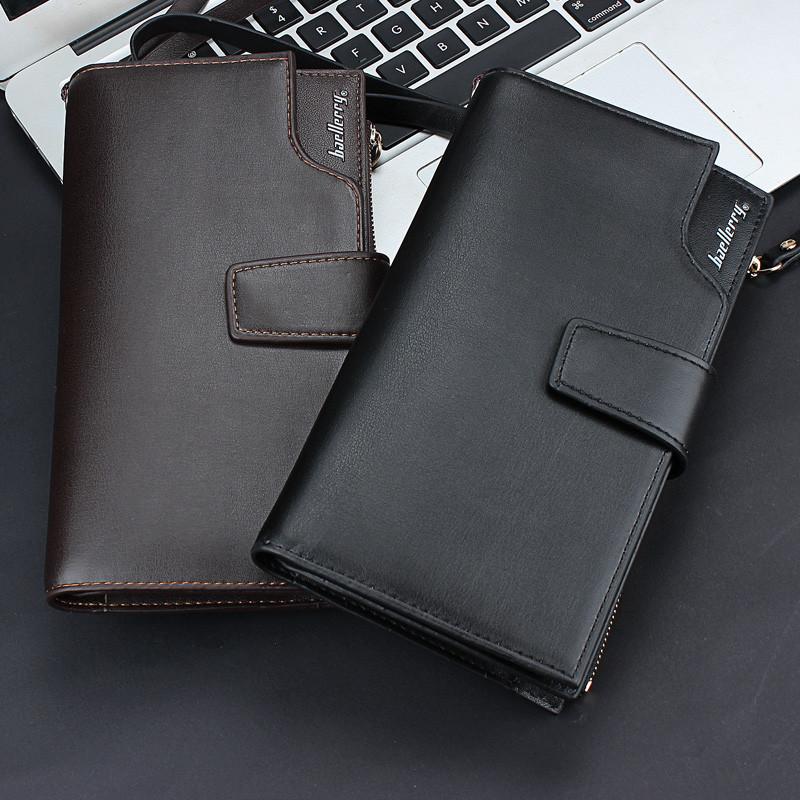 Новинка!!! Кожаный портмоне-клатч ручной работы Baellerry Italiа