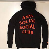 Толстовка ASSC Paranoid • Бирки ориг. • Фотки живые • Худи Undefeated Anti Social Social Club