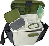 Ящик зимний, рыбацкий, с карманами для снастей