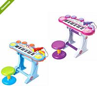 Детское пианино-синтезатор BB45BD со стульчиком ***