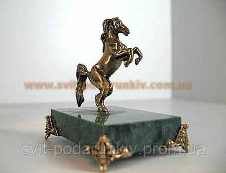 Бронзовая статуэтка Конь в подарок, фото 2