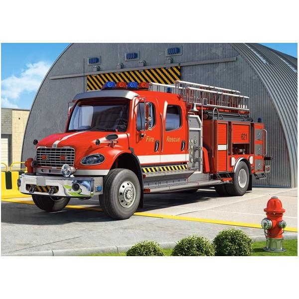 Пазлы Castorland 120  Пожарная машина