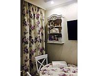 Комплект штор в стиле Прованс Aquarel Lilac, арт. MG-120002