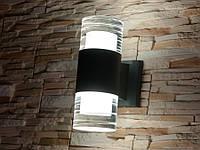 Фасадный светильник Dh DFB-1910/2G (серый)