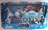 Карета для куклы с лошадью. Большая В коробке 689Y-2 Китай