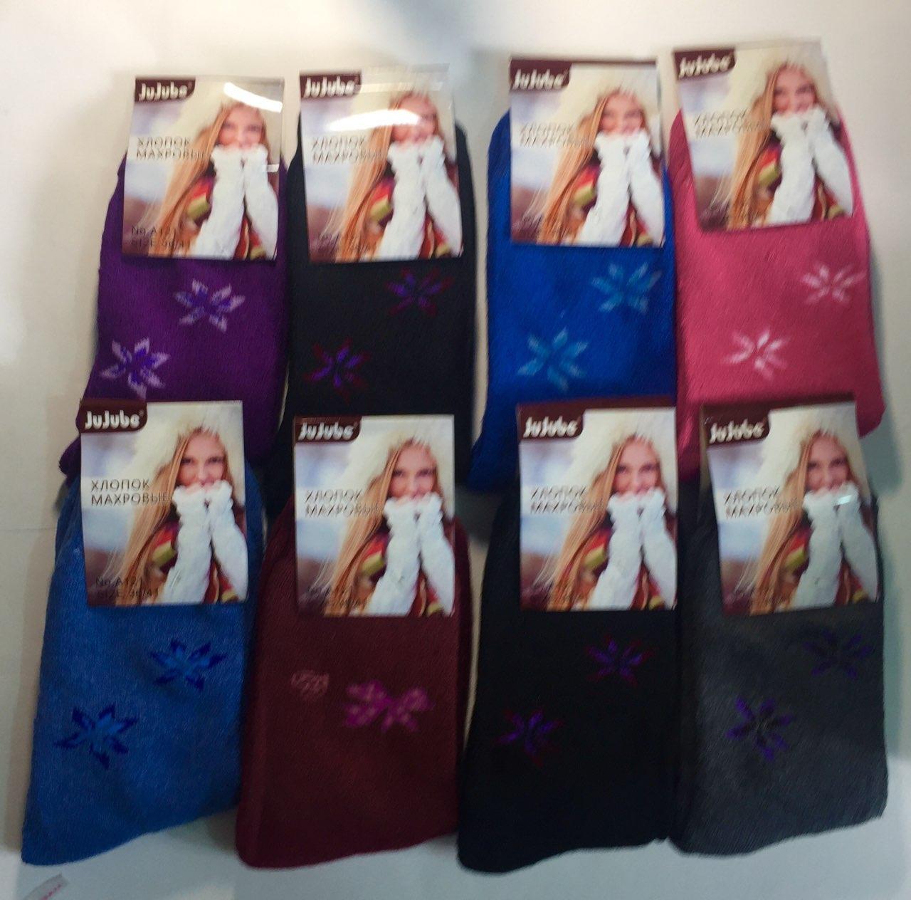 Махровые женские носки  JuJuBe 37-41 Хлопок