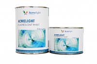 Флуоресцентная краска для стекла двухкомпонентная 0,75 л