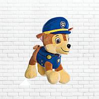 Детская мягкая игрушка,щенячий патруль,щенок Чейз
