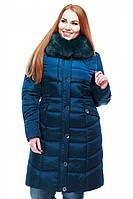 Стеганое женское полупальто большого размера с капюшоном Дайкири 4