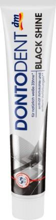 Dontodent зубная паста Black Shine (75 ml.) Германия