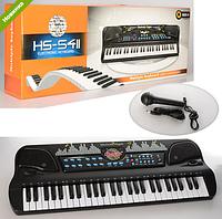 Синтезатор с USBзарядным и микрофоном HS5411-21 ***