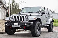 Передний бампер силовой тюнинг Jeep Wrangler JK CALIFORNIA OEM