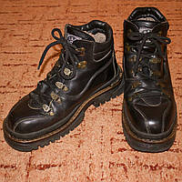 Байкерские мужские зимние ботинки на меху Art American Boots по стельке 28,5см р.43,5